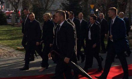 Wizyta Prezydentów Polski i Węgier
