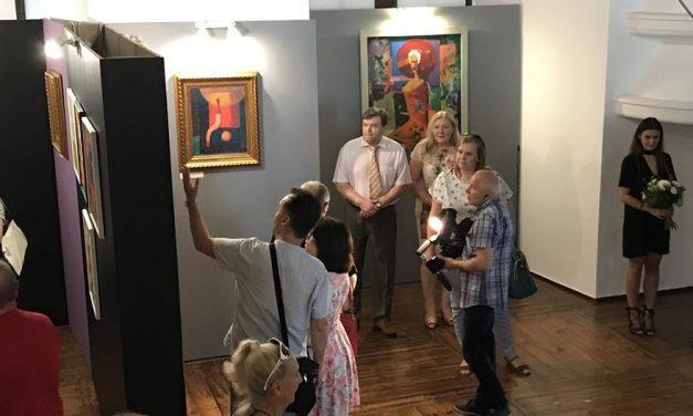 """Fotorelacja z wernisażu wystawy """"W aureoli"""""""