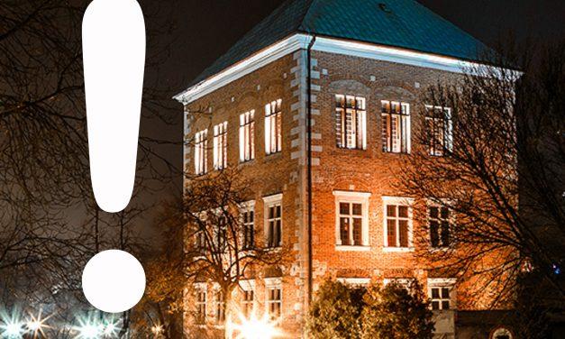 muzeum zamknięte dla zwiedzających do 17 stycznia 2021 roku
